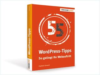 Mein neues Buch: 55 WordPress-Tipps