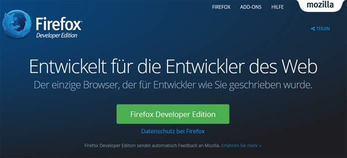 Firefox Developer Edition
