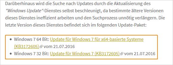 Hilfreiches Windows-Blog