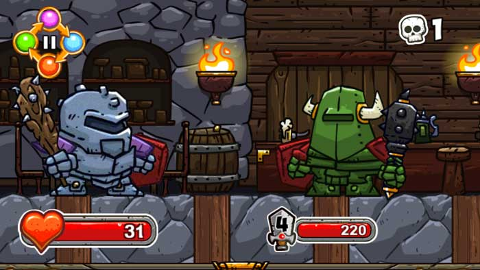 Screenshot aus dem Spiel: Good Knight Story