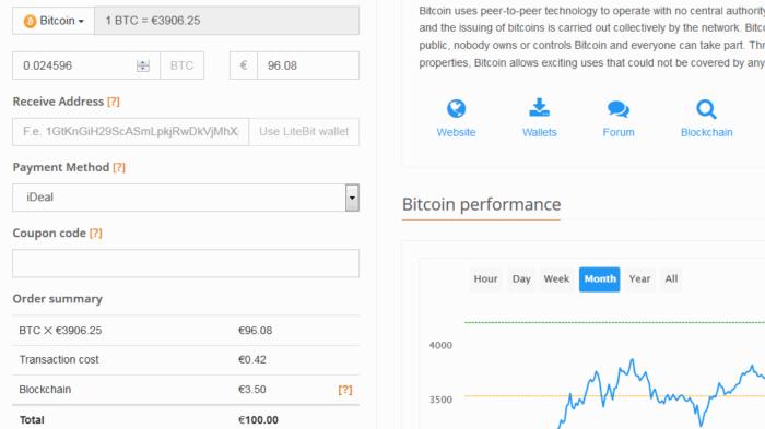 Bitcoin auf LiteBit kaufen