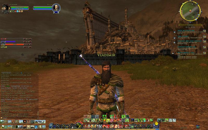 Von Ultima Online über Asherons Call Zu Herr Der Ringe Online