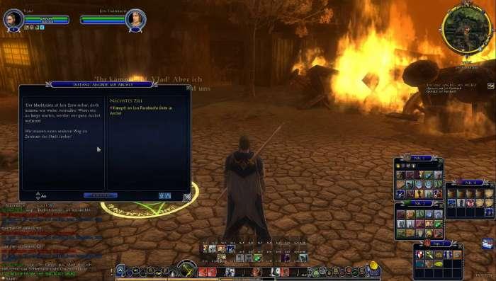 Screenshot aus Herr der Ringe Online: Archet in Flammen