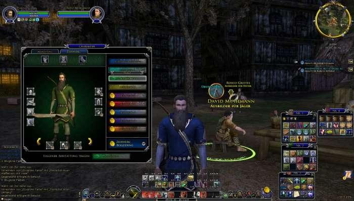 Screenshot aus Herr der Ringe Online: mein neuer Charakter