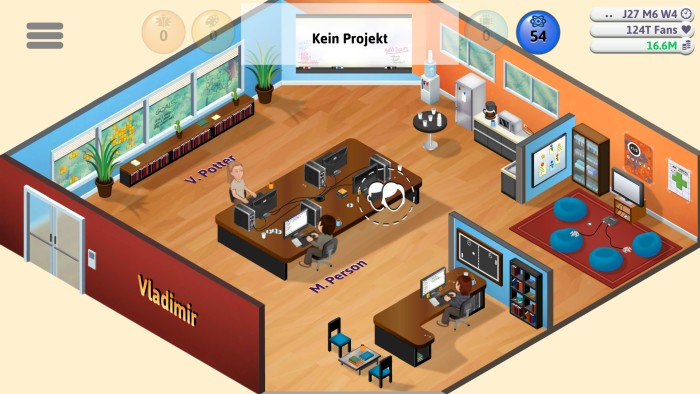 Screenshot: Game Dev Tycoon