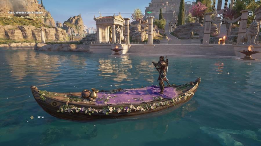 Assassin's Creed Odyssey Season Pass:unterwegs mit Boot