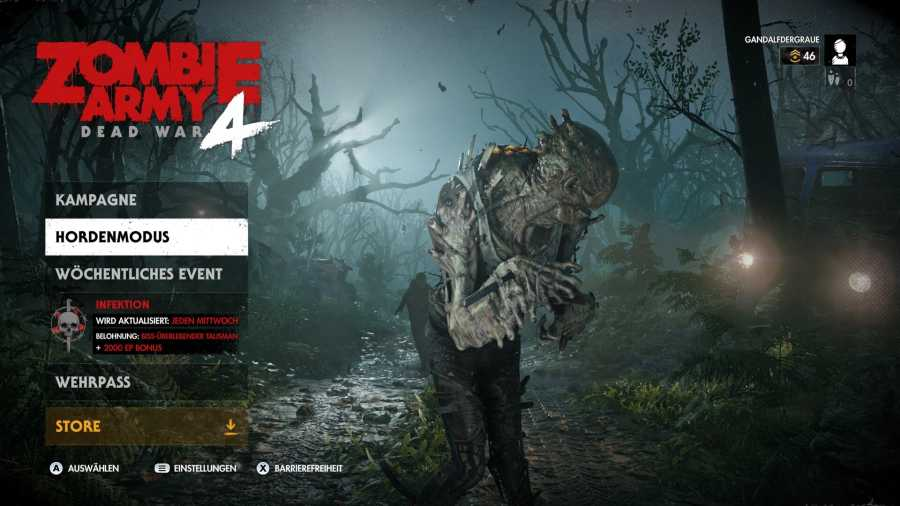 Stadia-Screenshot: Zombie Army 4