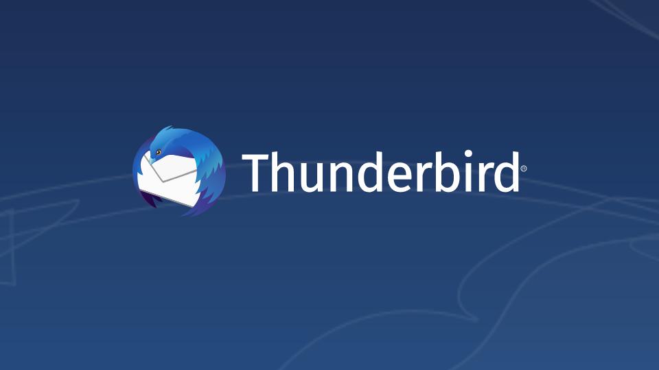 Logo von Mozilla Thunderbird