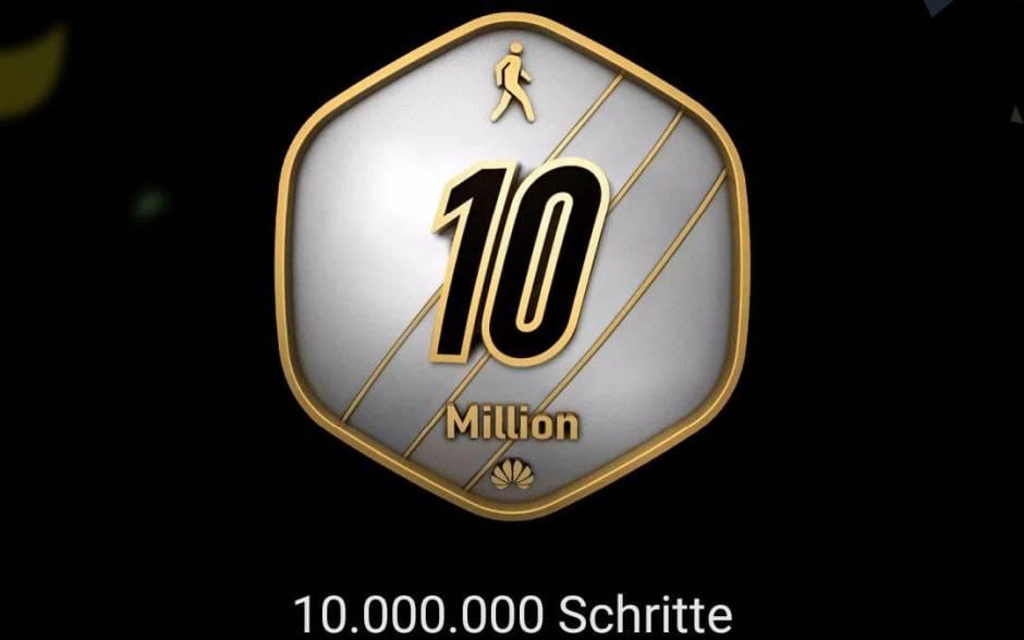 10 Millionen Schritte